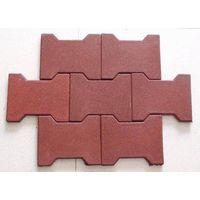 Offer Dog bone rubber tile(shanzhong)