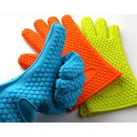 Heat Resistant Silicone grill Glove,oven silicone glove thumbnail image