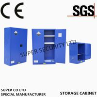 Industrial cabinet with exclusive paddle lock acid corrosive cabinet