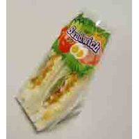 plastic sandwich fast food packing bag and wrapping