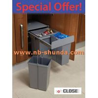 kitchen in cupboard bins waste receptacles Waste Sorting Bin
