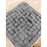 Black Bsalt Cobble Stone Flamed Tiles for Flooing Tiles