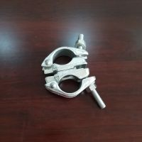 British stype drop forged swivel coupler BS1139/EN74