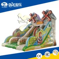 china hot inflatable bouncy slide for kids