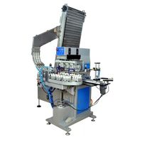 4 Colors Automatic Pad Printing Machine For Bottle Cap's Top thumbnail image