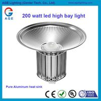 IP65 waterproof 200w led high bay mining light made in Shenzhen ,China