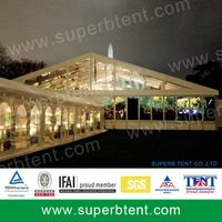 000 square meters outdoor big wedding tent with decoration thumbnail image