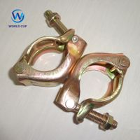 Scaffolding Swivel and Fixed Coupler pressed forged