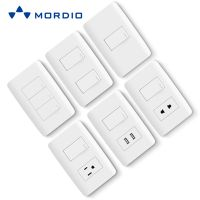 N1.6 Wholesaler supply oem/odm new design electrical modular US standard light switch and socket 10A