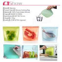 Hot seller wonderful and multifunctional silicone food bag