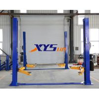 High quality 4T two post floor hydraulic car lift for home garage