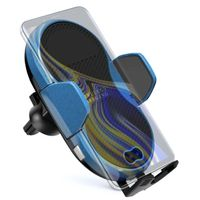 KC OEM Factory 2021 QI tech wireless charger car mount for iPhone all Qi enable mobiles thumbnail image