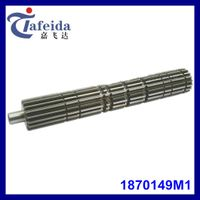 Main Shaft for MF Agricultural Tractor, Transmission Components, 1870149M1, 18 Splines / 7 Grooves