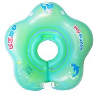 Factory Oem Cute Inflatable baby swimming float /baby swim Neck Ring Water Sport Pool Float Baby Swi