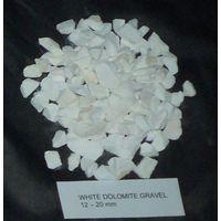 We sell marble chips 99 % CaCO3, white dolomite gravel thumbnail image