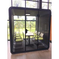 Movable easy installation portable soundproof booth trade show meeting conference booth