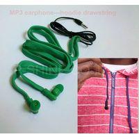 2013 NEW washable headphones waterproof earphones hoodie drawstring headsets