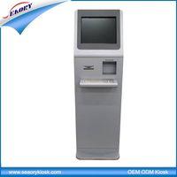 ineractive information kiosk/kiosk machine with thermal printer/payment kiosk