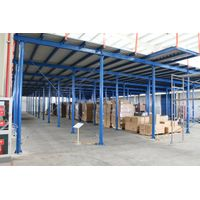 Steel Structure Garret Rivet Rack System with Lift Platform thumbnail image