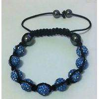 shamballa bracelet Monochrome Series #A20 sky blue