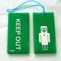PVC/rubber tag