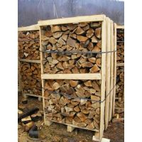 KILN DRIED HARDWOOD FOR FUEL ON PALLET BOXES 10-20% MOISTURE