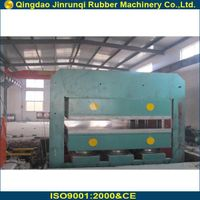 large rubber vulcanizing press