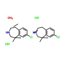 (1R)-8-Chloro-2,3,4,5-tetrahydro-1-methyl-1H-3-benzazepine hydrochloride hemihydrate