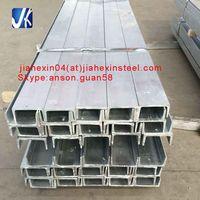 Custom cutting galvanized perforated u channel