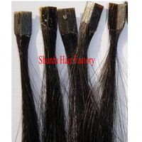 Chinese human hair pretipped hair extension