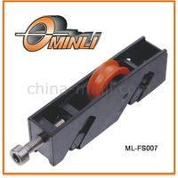 Zinc Bracket Bearing with Single Roller for Window and Door