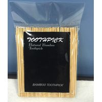 100pcs bamboo toothpick in polybag