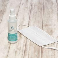 """Sanitizer spray for face mask [Menage Natural Life Plus]""""KAI"""" Alcohol free Unscented"""