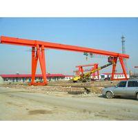 Precast Yard Lifting Single Beam Gantry Crane Price
