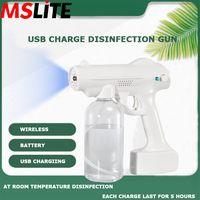 Novedades 2020 Sanitizing Machine Usb Charge Wireless Disinfection Spray Gun Car Home Use