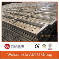 Manufacturer in Tianjin Q195 pre galvanized Metal plank steel board for scaffolding system thumbnail image