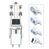 CE approved safety professional 5 Handles Double Chin Removal Cryotherapy freeze fat slim machine