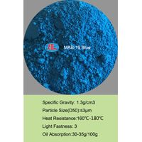 MAB-19 blue Fluorescent Pigment for plastic, PVC