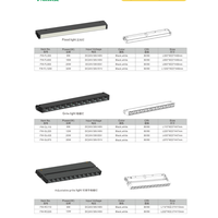 Length-customizable new product for wall mounted powerful magnetic track light thumbnail image