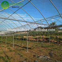 High light transmission plastic multi span arch pipes greenhouse for farm thumbnail image