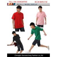Wholesale ! Cheap on sale 100% cotton solid color polo t shirt for men