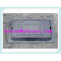gray iron surface box manhole box