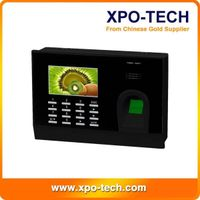 2013 High quality 3'' TFT Clolor Screen ZK Software Biometric Time Attendance HJ699