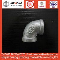 Malleable Iron BS/ANSI Standard Elbow