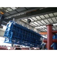 styrofoam block molding machine