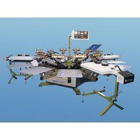 Semi automatic rotary printing machine(ajm-51212s)