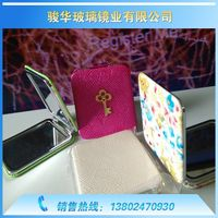 0.7 USD Beauty Easy take Small Square Various Make Up Mirror