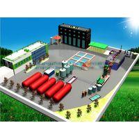 Waste oil refinery to diesel machine