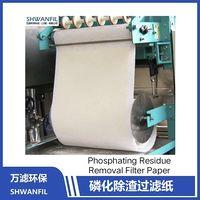 Phosphating Slag Removal Filter Paper Fk Msf Alsi Filter Press Automotive Plant