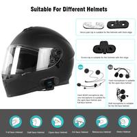 TCOM-SC FreedConn 800M Motorcycle Bluetooth Intercom with LCD Display thumbnail image